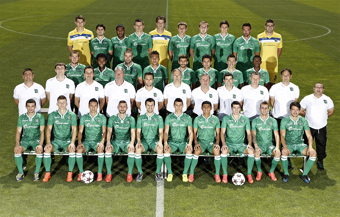 Teams 2014/15 | PFC Ludogorets